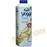 Yoghurt m. pære og banan