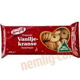 Smørbagte vaniljekranse