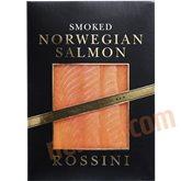 Røget norsk laks i æske