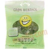 Grøn menthol bolcher