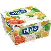 Soyayoghurt m. citron og lime