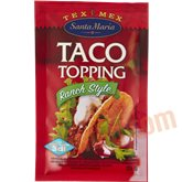 Taco topping ranch style