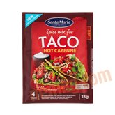 Taco kryddermix (hot)