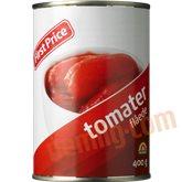 Flåede tomater