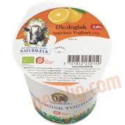 Sødmælksyoghurt - Yoghurt m. appelsin øko.