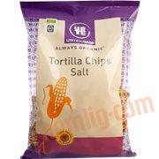 Tortillachips - Tortilla chips m. salt øko.