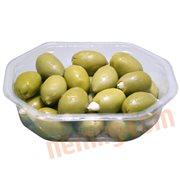 Oliven & Soltørrede Tomater - Grønne oliven m. mandler