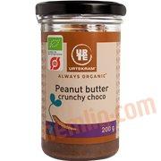 Nøddesmørepålæg - Peanutbutter (crunchy) øko.