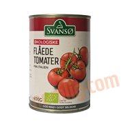 Dåsetomater & Puré - Flåede tomater øko.