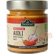 Mayonnaise - Aioli m. chili øko.
