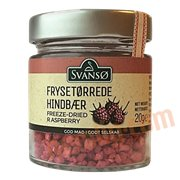 Krymmel & Pynt - Frysetørrede hindbær