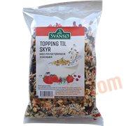 Müsli - Topping til skyr m. jordbær