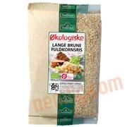 Ris - Brune ris (Lange) øko.