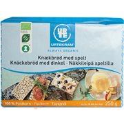Knækbrød - Fuldkornsknækbrød m.spelt øko.