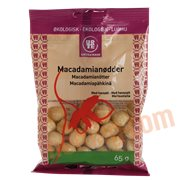 Nødder - Macadamianødder øko.