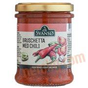 Specialiteter - Pesto bruschetta m. chili