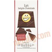 Chokoladeplader - Lys belgisk chokolade