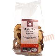 Snacks - Æblechips m. kanel øko.