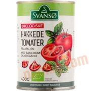 Dåsetomater & Puré - Hakkede tomater øko.