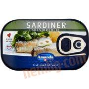 Fiskekonserves - Sardiner i solsikkeolie