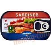Fiskekonserves - Sardiner i tomat