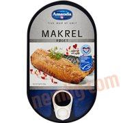 Fiskekonserves - Røget makrel