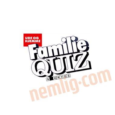 Familie quiz kryds og tværs - Kryds og Tværs