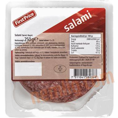 Salami - Pålæg i Skiver