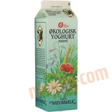 Yoghurt naturel øko. - Sødmælksyoghurt