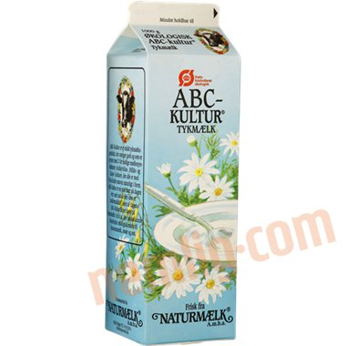 Abc kultur øko. - Sødmælksyoghurt