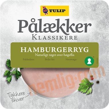 Hamburgerryg - Pålæg i Skiver