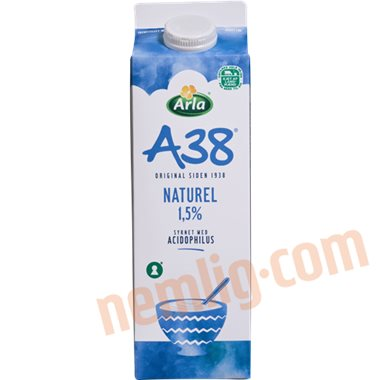 A38 letmælk - A38