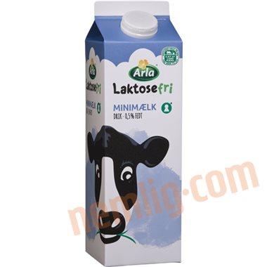 Minimælk (laktosefri) - Minimælk