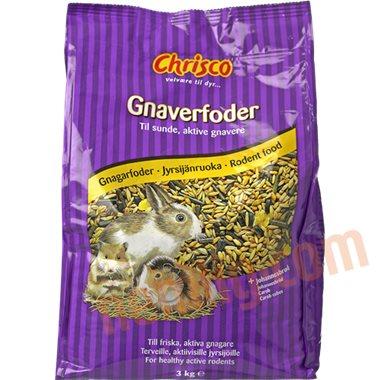 Gnaverfoder - Øvrig dyremad