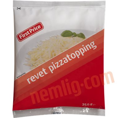 Pizzatopping - Revet Ost