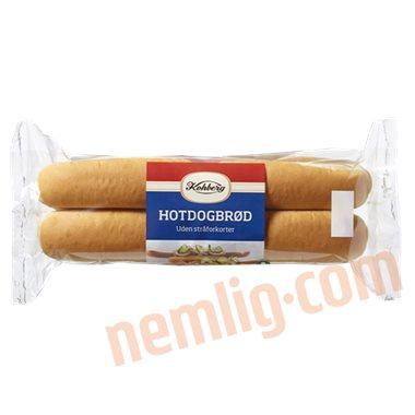 Hotdogbrød - Pølsebrød