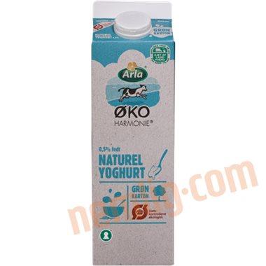 Yoghurt naturel øko. - Skummetmælksyoghurt
