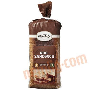 Rugsandwich - Toastbrød