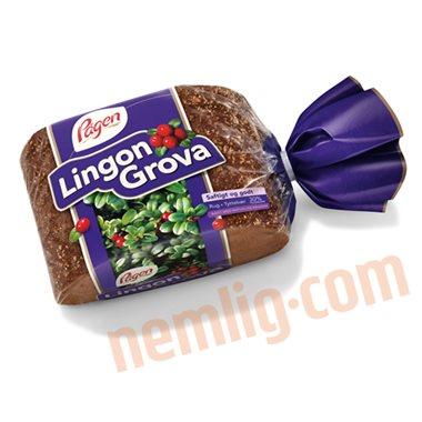 Lingongrova rugbrød - Skiveskåret Rugbrød
