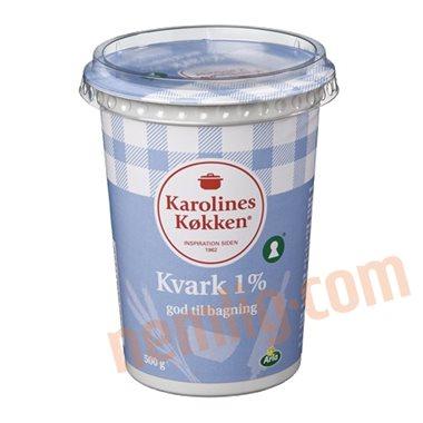 Kvark 1% - Hytteost & Kvark