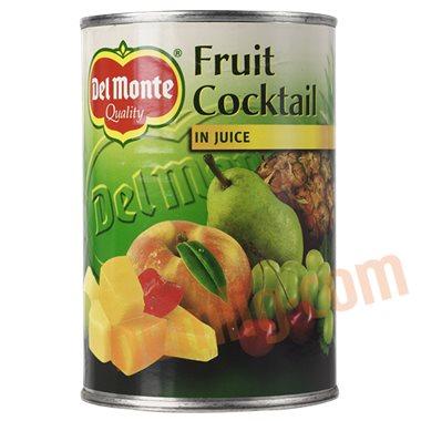 Frugtcocktail i juice - Konserveret Frugt