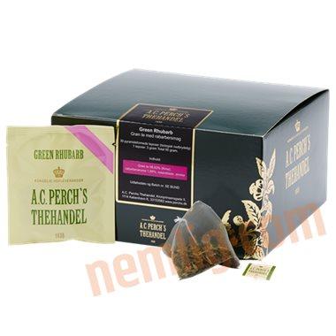 Grøn rabarber - Te i Breve