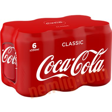 dåse coca cola på tilbud