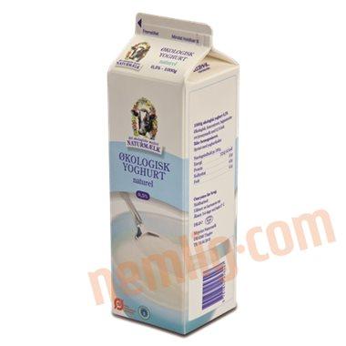 Yoghurt naturel 0,5% øko. - Letmælksyoghurt
