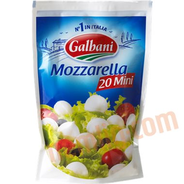Mozzarella (mini) - Mozzarella, Feta & Salatost