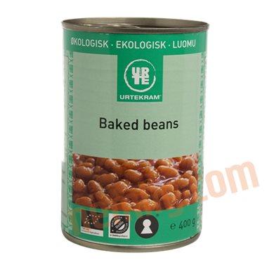 Baked beans øko. - Bønner