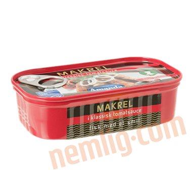 Makrel i tomat - Makrel