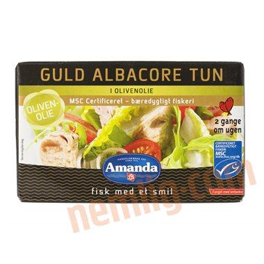 Guld tun i olivenolie - Tun
