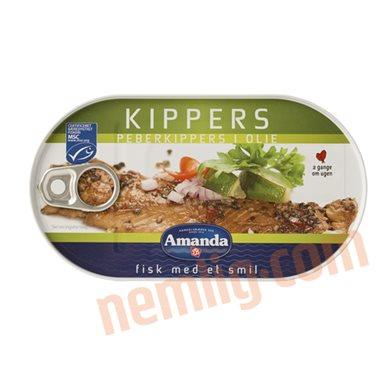 Kippers i peber - Fiskekonserves