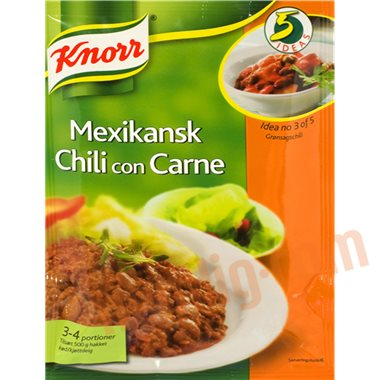 Chili con carne mix - Øvrige færdigretter
